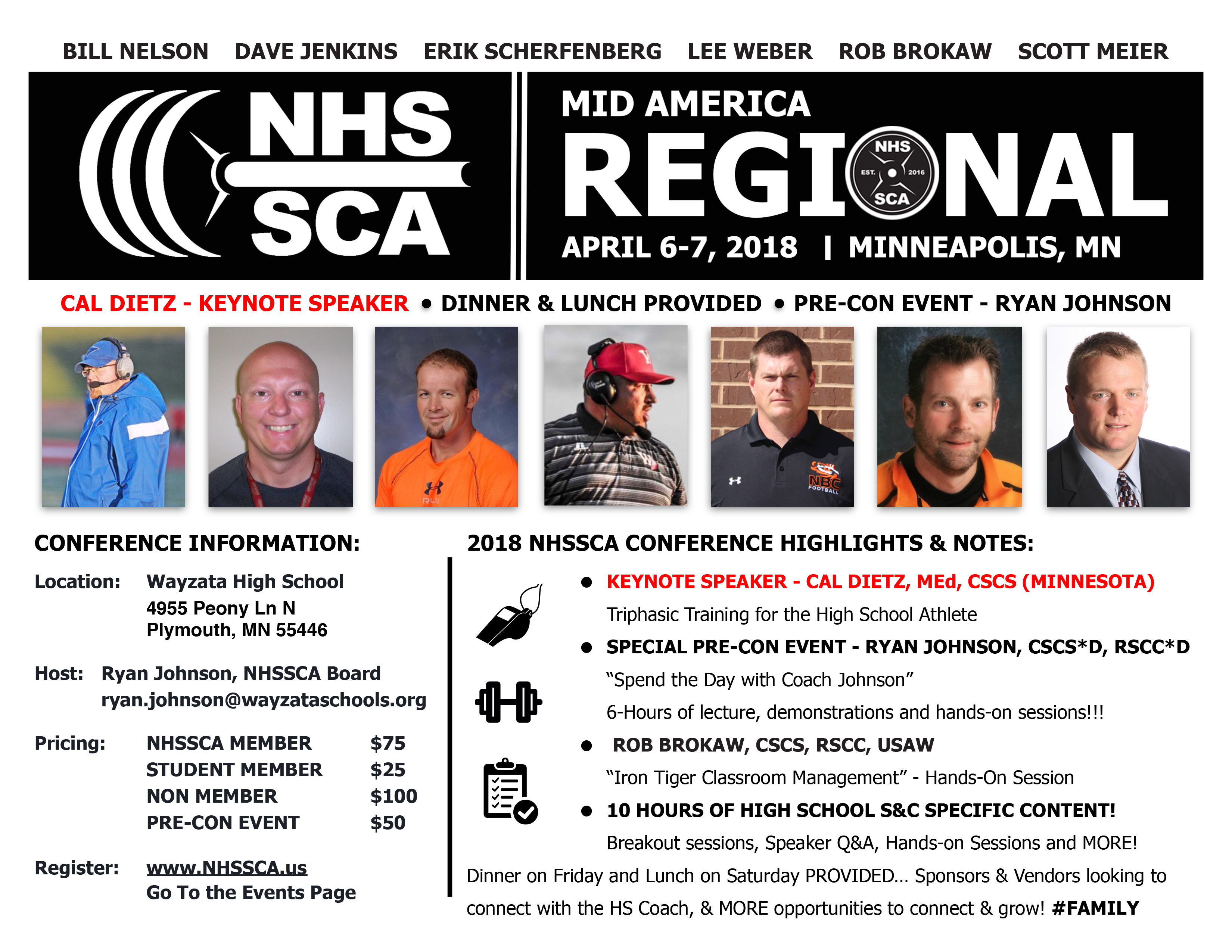 2018 Mid America Regional Conference - HS Strength Coaches